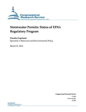 Stormwater Permits: Status of EPA's Regulatory Program