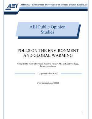 Primary view of object titled 'Polls on the Environment and Global Warming'.
