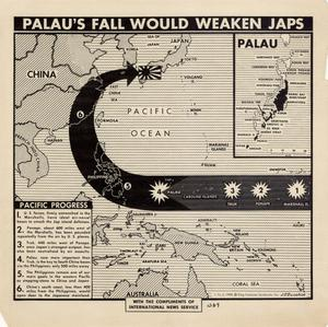 Palau's fall would weaken Japs.