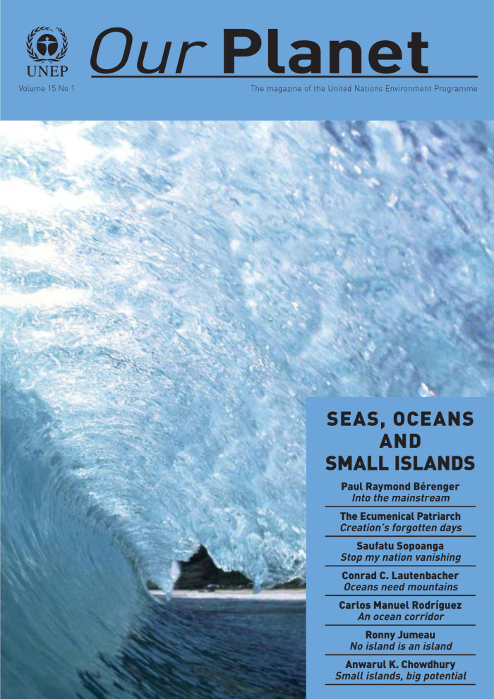 Primary View Of Object Titled Our Planet Volume 15 Number 1 Seas