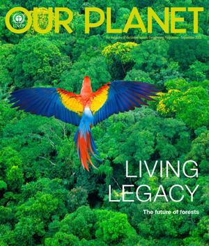 Primary view of object titled 'Our Planet : Living Legacy - The future of forests'.