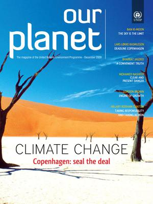 Primary view of object titled 'Our Planet : Climate Change - Copenhagen: seal the deal'.
