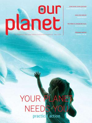Primary view of object titled 'Our Planet : Your Planet Needs You - practical action'.