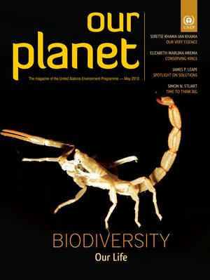 Primary view of object titled 'Our Planet , May 2010: Biodiversity, Our Life'.