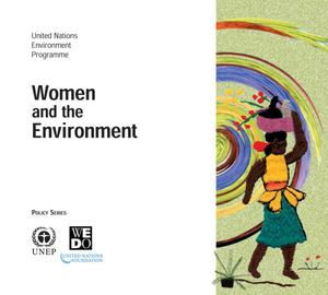 Primary view of object titled 'Women and the Environment'.