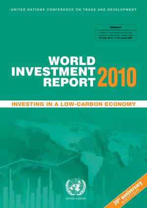 Primary view of object titled 'World Investment Report 2010: Investing in a Low-Carbon Economy'.