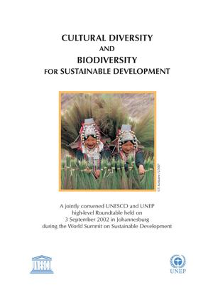 Cultural Diversity and Biodiversity for Sustainable Development