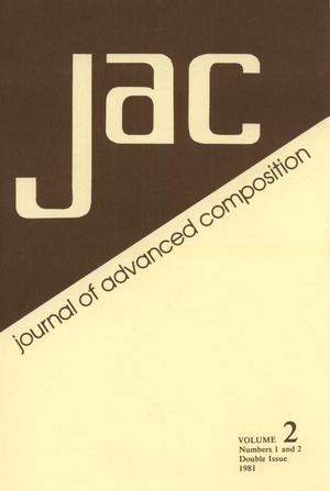 Journal of Advanced Composition, Volume 2, Numbers 1 & 2, Spring & Fall, 1981