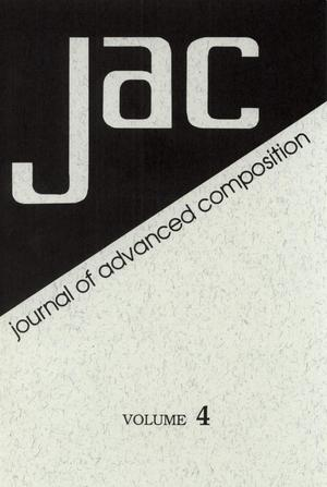 Primary view of object titled 'Journal of Advanced Composition, Volume 4, 1983'.