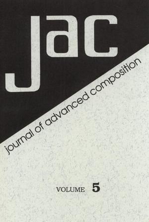 Primary view of object titled 'Journal of Advanced Composition, Volume 5, 1984'.