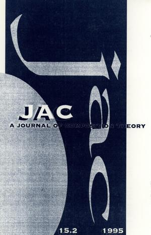 Primary view of object titled 'JAC: A Journal of Composition Theory, Volume 15, Number 2, 1995'.