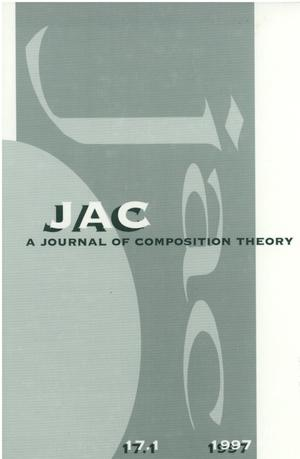 Primary view of object titled 'JAC: A Journal of Composition Theory, Volume 17, Number 1, 1997'.