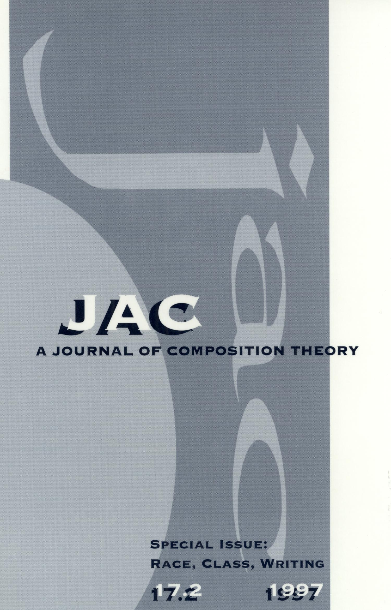 JAC: A Journal of Composition Theory, Volume 17, Number 2, 1997                                                                                                      Front Cover