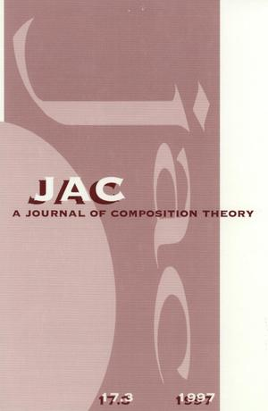 Primary view of object titled 'JAC: A Journal of Composition Theory, Volume 17, Number 3, 1997'.