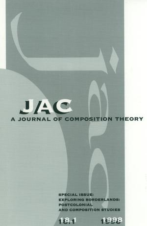 JAC: A Journal of Composition Theory, Volume 18, Number 1, 1998