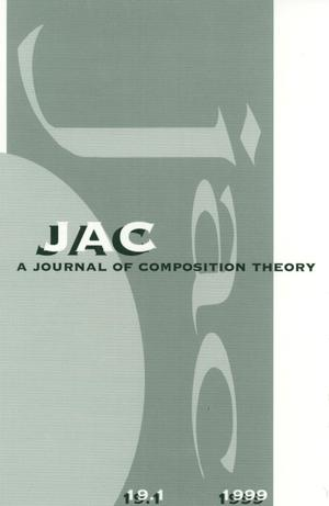 Primary view of object titled 'JAC: A Journal of Composition Theory, Volume 19, Number 1, 1999'.