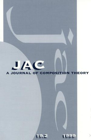 Primary view of object titled 'JAC: A Journal of Composition Theory, Volume 19, Number 2, 1999'.