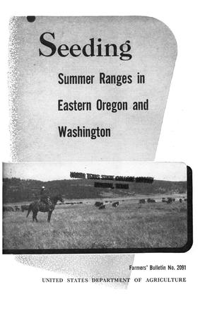 Primary view of object titled 'Seeding summer ranges in eastern Oregon and Washington'.
