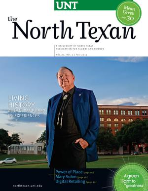 The North Texan, Volume 63, Number 3, Fall 2013