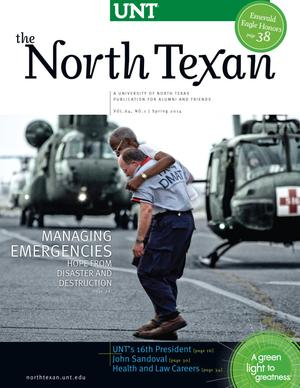 The North Texan, Volume 64, Number 1, Spring 2014
