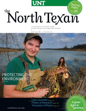 The North Texan, Volume 63, Number 1, Spring 2013