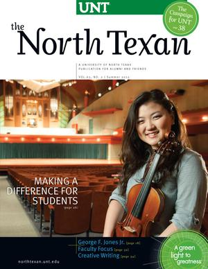 The North Texan, Volume 63, Number 2, Summer 2013