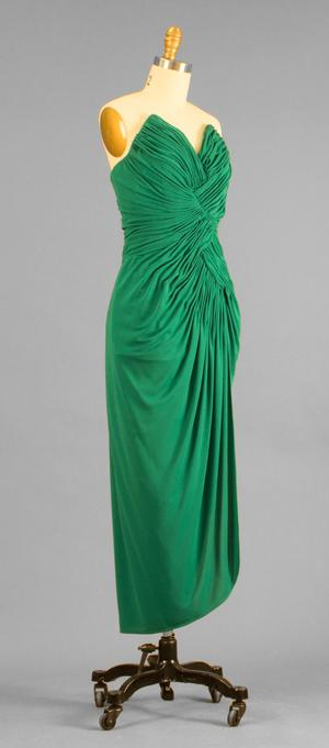 Primary view of object titled 'Evening Dress'.