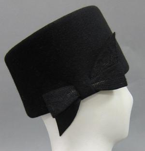 Primary view of object titled 'Toque Hat'.