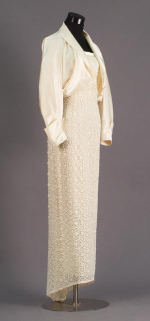 Primary view of object titled 'Evening Dress and Jacket Ensemble'.