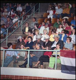 Primary view of object titled '[Rodeo crowd in the Stands]'.