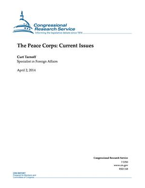 The Peace Corps: Current Issues