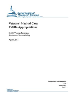 Veterans' Medical Care: FY2014 Appropriations
