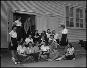 Primary view of object titled '[Group Photo of Women's Recreation Association]'.