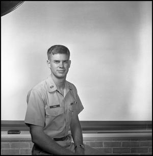 Primary view of object titled '[AFROTC member Don Combs]'.