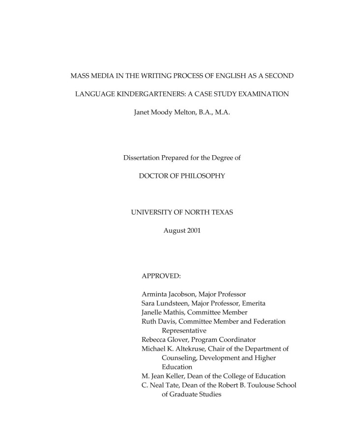 Writing the doctoral dissertation davis UNT Digital Library   University of North Texas