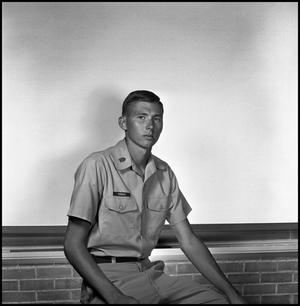 Primary view of object titled '[AFROTC member Ronald P. Hubbard]'.