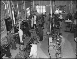 Primary view of object titled '[Students in Machine Shop]'.
