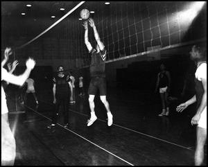 Primary view of object titled '[ROTC Intramural Volleyball]'.