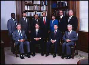 Primary view of object titled '[Members of Administration, 1989]'.