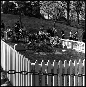 Primary view of object titled '[Original grave-site of President John F. Kennedy]'.