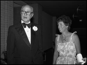 Primary view of object titled '[Alumni Awards Banquet, September 16, 1977]'.