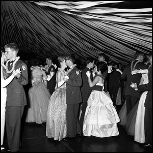 Primary view of object titled '[AFROTC Military Ball, March 7, 1964]'.