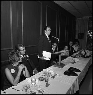 Primary view of object titled '[Alumni Awards Luncheon, April 27, 1974]'.