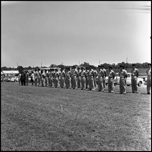 Primary view of object titled '[AFROTC members]'.