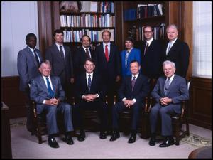 Primary view of object titled '[Members of Administration #13, 1989]'.