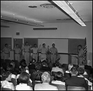 Primary view of object titled '[AFROTC Commissioning August 1967]'.