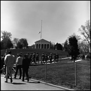 Primary view of object titled '[AFROTC Arnold Air Society National Conclave Trip, Washington DC, Spring 1965]'.