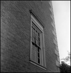 Primary view of object titled '[Administration Building damage from bombing, April 18, 1970]'.