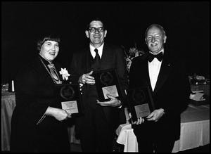 Primary view of object titled '[Alumni Awards Banquet, October 27, 1978]'.