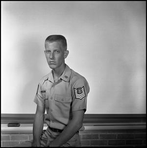 Primary view of object titled '[AFROTC member Steven Richter]'.